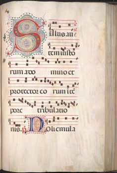 Call Number: Beinecke MS 42 (Request the physical item to view in our reading room) Renaissance Music, Medieval Music, Music Manuscript, Medieval Manuscript, Alphabet Art, Letter Art, Calligraphy Letters, Caligraphy, Illuminated Letters