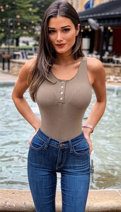 Sexy Jeans, Sexy Hot Girls, Guys And Girls, Sexy Outfits, Iranian Women Fashion, Models, Mode Style, Girls Jeans, Beautiful Celebrities