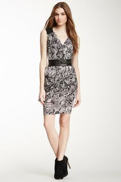 BCBGMAXAZRIA Sherri Zip Shoulder Dress by Non Specific on @HauteLook