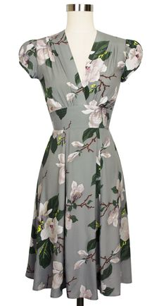 The Trashy Diva Ashley Dress in Steel Magnolias can easily transition between several seasons!