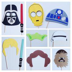 Disney Star Wars Photo Booth Props Star Wars por LetsGetDecorative
