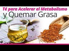 Este té natural trabaja como una pastilla quemadora de grasa ¡Descúbrelo! | Adelgaza 20
