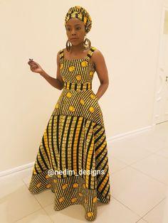 Wedding Shweshwe Dresses for 2019 ShweShwe 1 Latest African Fashion Dresses, African Dresses For Women, African Print Dresses, African Print Fashion, Africa Fashion, African Attire, African Outfits, Chitenge Dresses, Moda Afro