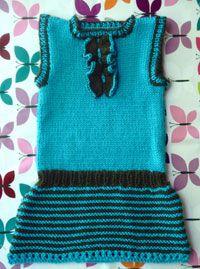 Ruffle Front Baby Mini-Dress