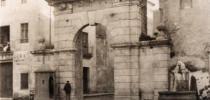 Ajuntament de Xàtiva, PORTAL DE VALENCIA ANTIGUA UBICACIÓN EN EL PORTAL DEL LLEÓ