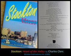 """Highly resonate of """"Stockton's Golden Era"""" by Alice van Ommeren, """"Stockton: Heart of the Valley"""" by Clerc (1989)"""