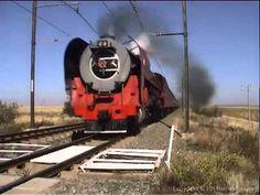South African Railways - 16E 857 15F 3040 26 3450 25NC 3454 Bloemfontein...
