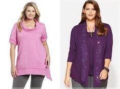 Resultado de imagem para moda feminina PLUS SIZE Moda Feminina Plus Size, Tunic Tops, Women, Fashion, Women's, Moda, Fashion Styles, Fashion Illustrations, Woman