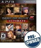 Dead or Alive 5 Ultimate - PRE-Owned - PlayStation 3