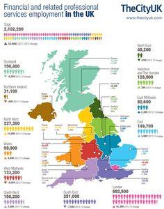 Empleados en banca UK 2014