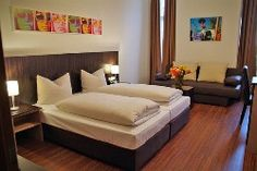 View deals for arthotel munich. Guests praise the central location. Theresienwiese is minutes away. Breakfast and WiFi are free, and this hotel also features a bar. Munich Germany, Traveling By Yourself, The Good Place, Bed, Inspiration, Furniture, Hotels, Budget, Home Decor