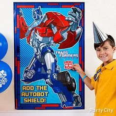 Transformers Party Ideas: Games & Activities - Click to View Larger