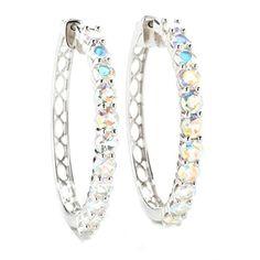 Sterling Silver 6.50cttw Opalescent Topaz Hoop Earrings V3 Jewelry http://www.amazon.com/dp/B019DW5758/ref=cm_sw_r_pi_dp_96yCwb0JZ9SQ8