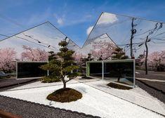 mirror restaurant in Japan