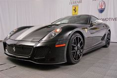Come and see our beautiful 2011 Ferrari 599 Cpe GTO with style paddle shift manual transmission and a DOHC engine. V12 Engine, Geneva Motor Show, First Car, Manual Transmission, New And Used Cars, Car Manufacturers, Gto, Car Ins, Paddle