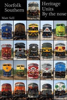 Southern Heritage, Norfolk Southern, Union Pacific Train, Train Posters, Railroad Pictures, Southern Railways, Railroad Photography, Old Trains, Train Pictures