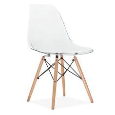 Charles E Style Transparent DSW Stuhl