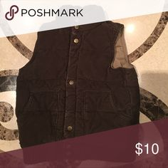Spotted while shopping on Poshmark: Corduroy Vest! #poshmark #fashion #shopping #style #Gap Kids #Other