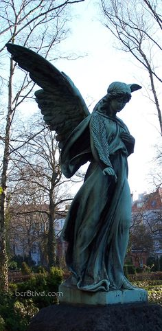 Angel from one of Berlin's beautiful cemeteries by Dantes Stock