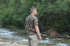 Military Jacket, T Shirt, Men, Fashion, Field Jacket, Tee, Moda, La Mode, Fasion