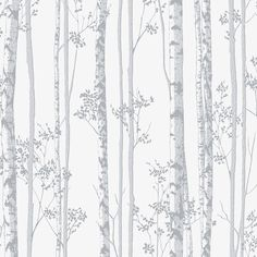 Linden Pearl/Grey Wallpaper by Graham and Brown