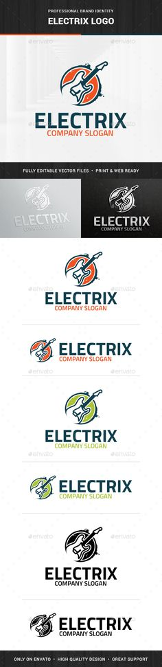Electric Guitar  - Logo Design Template Vector #logotype Download it here: http://graphicriver.net/item/electric-guitar-logo-template/15483609?s_rank=1299?ref=nexion