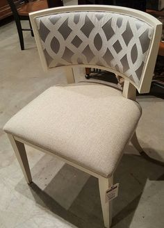 261 Tango Dining Chair By Burton James  Vapor Spa Fabric @ Heritage  Furniture Outlet
