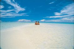 #18. The Beqa Lagoon off of Southern Fiji. Nestled amongst the tropical greenery of a 10-acre barrier reef island, this secluded beach is perfect for couples.