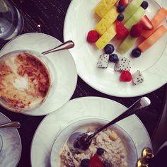 Divine weekend breakfast at Lang, the artisan deli in Shangri-La hotel in The Shard, London