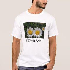 Flower Girl Daisies T-Shirt