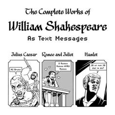 Shakespeare text messages