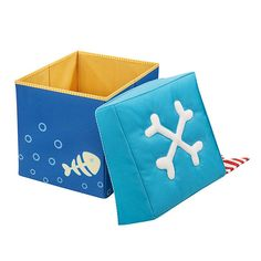 Pirate storage cube seating by Haba at Funky Nursery Kids Store, Toy Store, Toddler Gifts, Gifts For Kids, Cubes, Pirate Images, Kids Playroom Furniture, Buy Gifts Online, Kids Tents