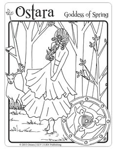 Wiccan Coloring Pages. Wiccan Coloring Pages Free. Adult Coloring Page Coloring Pages for Adults Witch Coloring Pages, Adult Coloring Pages, Coloring Sheets, Coloring Books, Vernal Equinox, Sabbats, Beltane, Wiccan, Witchcraft