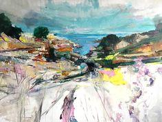 La Crique, 2017 | Oil on canvas | 59 x 79 inches