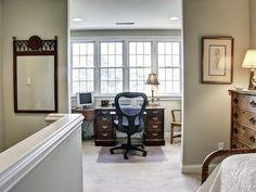 Upstairs Office Area
