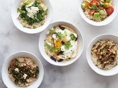 Make Your Oatmeal Work Harder     : These bowls are a new take on the traditional breakfast grain.