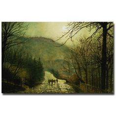 John Grimshaw 'Forge Valley' Art