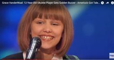 Just give the damn America's Got Talent award to New York 12 year-old grace VanderWaal already, she's amazing and original.