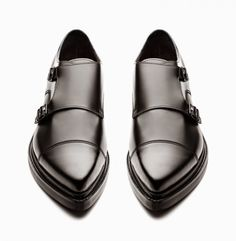 ACNE STUDIOS MONK STRAP SHOES