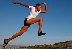 runners leap