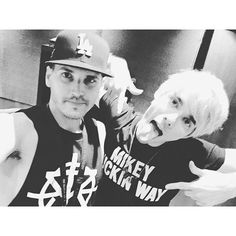 Mikey and Awsten Knight