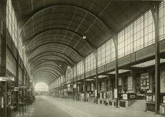 Breslau Hauptbahnhof   (Wrocław Railway Station pre-war).
