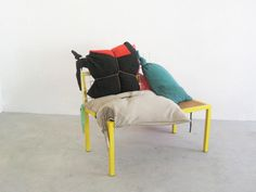 Liliana Ovalle's seating pieces