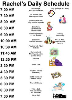 Toddler Daily Schedule Pretty Much Our Schedule 7 7 I M