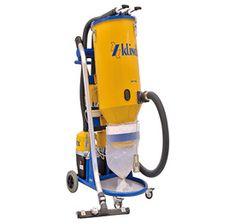 Industrial Vacuum-KLINDEX Industrial Vacuum Cleaners, Floor Preparation, Dust Collector, Control Unit, Grinding, Vacuums, Housekeeping, Metal Working, Concrete