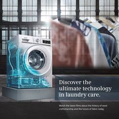It's officially From future seen on this year's to those personal investment pieces, innovative technology provides the highest level of laundry care. Sustainable Fabrics, Wearable Technology, Cat Walk, Fujifilm Instax Mini, Ss16, Innovation, Laundry, Appliances, London