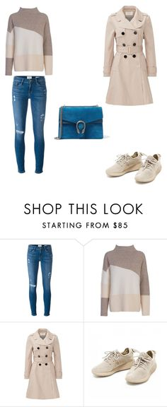 """""""Set"""" by michaelamc ❤ liked on Polyvore featuring Frame Denim, French Connection, Kate Spade and Gucci"""