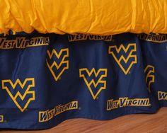 West Virginia Mountaineers Tree Skirt