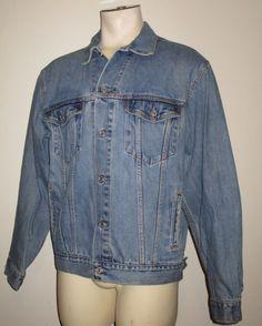 Men's Levi's Standard Trucker Jacket - Blue - Large - 70507-0389 #Levis #Denim