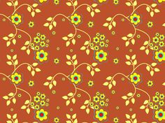 Golden Brown Floral by clairyfairy. Bedding in organic cottons. Cushions in linens. Upholstery in heavy duty twill.